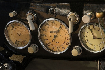 Mercedes 170 V, dashboard